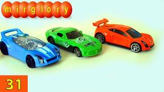 Машинки мультфильм - Город машинок - 31 серия: Гоночные машинки, автосервис. Развивающие мультики(Представляем вам новый мультик про машинки