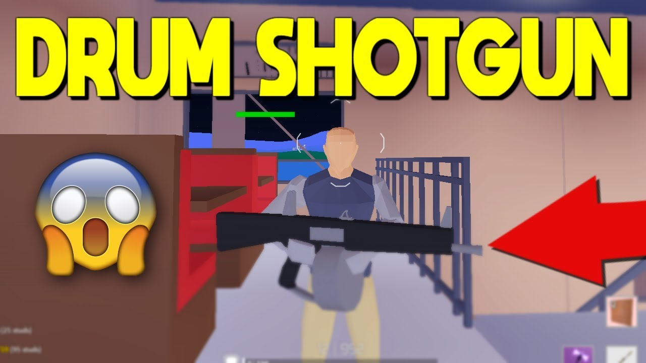 *NEW* DRUM SHOTGUN IS OUT In Strucid... - YouTube