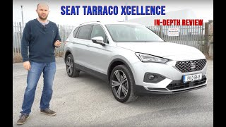 SEAT Tarraco all new Xcellence review | Can it undercut the 7 seater competition? #SEATTarraco