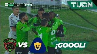 El Var Decreta Y Juárez Marca   Fc Juárez 3   1 Pumas   Liga Mx   Cl 2020   J2   Tudn