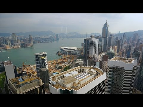 Cool drive through Hong Kong from the Island Shangri-La to HKG