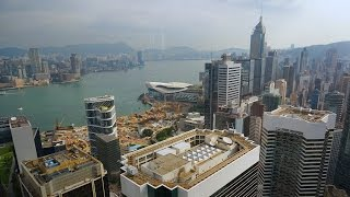 My favorite place to stay in Hong Kong is the luxurious Island Shan...