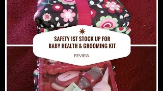 Safety 1st Deluxe Healthcare and Grooming Kit, Raspberry Review