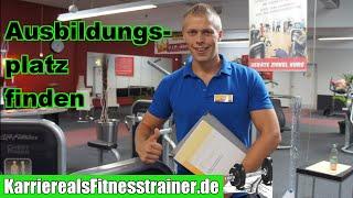 Fitnesstrainer werden: Geeigneten Ausbildungsplatz im Fitnessstudio suchen & finden (1/3)