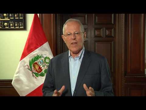 PRESIDENT PEDRO PABLO KUCZYNSKI PRESENTS THE PERU TRAVEL MART - PTM 2017