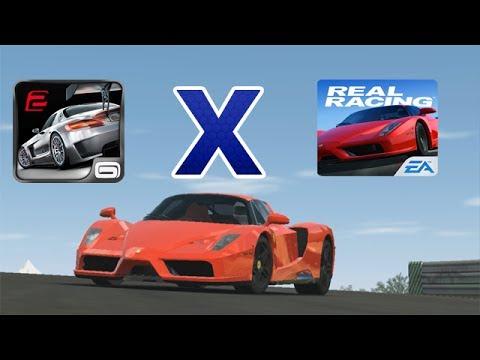 Real Racing 3 X GT Racing 2   Comparativo