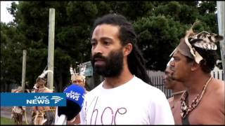 Protesters demand their ancestors' remains for reburial thumbnail