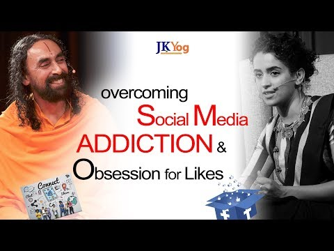 how-to-overcome-social-media-addiction-and-obsession-for-likes?---swamiji-answers-sanya-malhotra