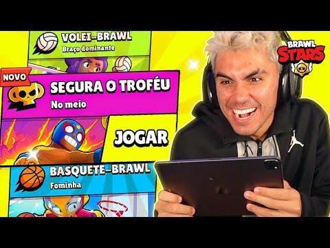 JOGUEI OS NOVOS MODOS DE JOGO, ATUALIZAÇÃO BRAWL STARS!!