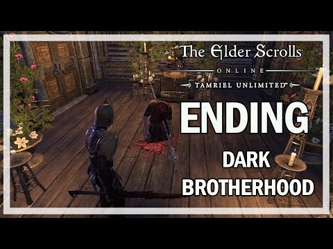 The Elder Scrolls Online Dark Brotherhood Ending & Final Boss - Gameplay Let's Play