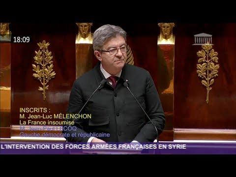 SYRIE : «NOUS SOMMES POUR UN MONDE ORDONNÉ» - Mélenchon
