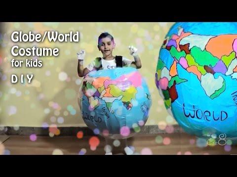 Globe Costume for Kids - D I Y - World Costume