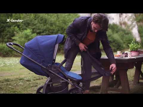 Детская прогулочная коляска X-Lander X-Move. Видео №3