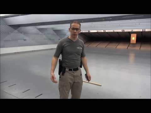 North Dakota Concealed Weapons Permit Shooting Proficiency Test