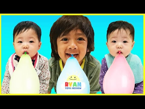 Learn Colors with Balloons! Baby Nursery Rhymes Song with Balloons Popping Show