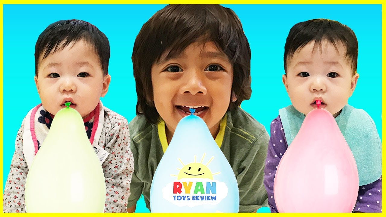 Learn Colors With Balloons Baby Nursery Rhymes Song With Balloons Popping Show