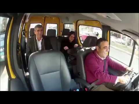 Sezgin Tanrıkulu taksici, Tahir Elçi yolcu