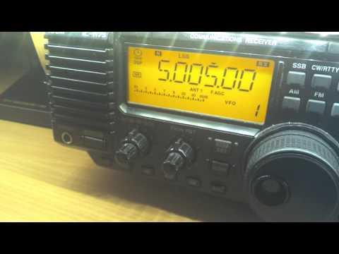 Radio Nacional, Bata, Equatorial Guinea 5005 kHz, 20:47 UTC, weak