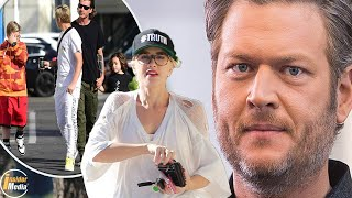 Blake Shelton feels betrayed when Gwen Stefani and the boys secretly hang out with Gavin