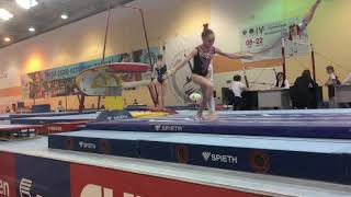Камкова Ксения - прыжок