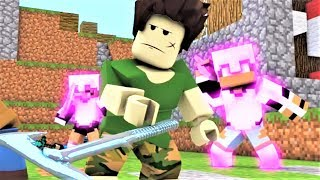 NEW Minecraft Song Minecraft VS Roblox Battlefield Minecraft and Roblox Music Video Series