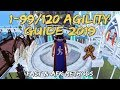 1-99/120 Agility Guide 2019/2020 | Fast & AFK Methods! [Runescape 3]