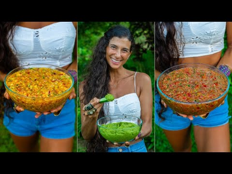 Best Salsa Recipes for ANY Occasion 🍅Easy, Homemade, Sweet, Savory, & Spicy 🌱FullyRaw Vegan