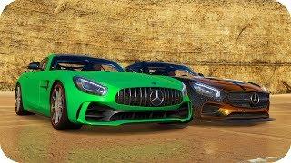 MERCEDES AMG GTR VS MERCEDES AMG GTS | FH3
