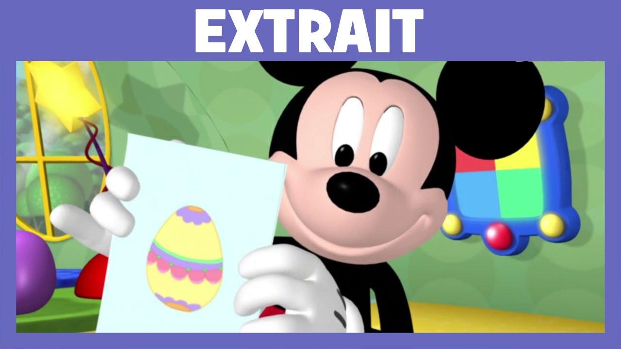Disney Junior : La Maison De Mickey   La Chasse Aux Oeufs De Pâques,  Extrait De Lu0027épisode