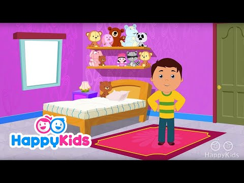 Parts Of The House - Learning Songs Collection For Kids And Children | Happy Kids