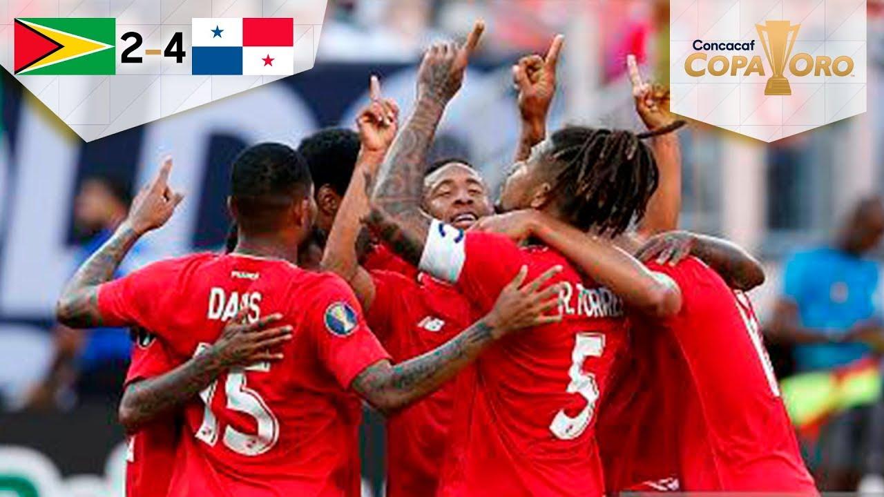 Segunda victoria de Panamá en Copa Oro   Guyana 2 - 4 Panamá   Copa Oro    Televisa Deportes