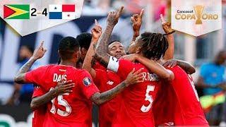Segunda victoria de Panamá en Copa Oro | Guyana 2 - 4 Panamá | Copa Oro  | Televisa Deportes