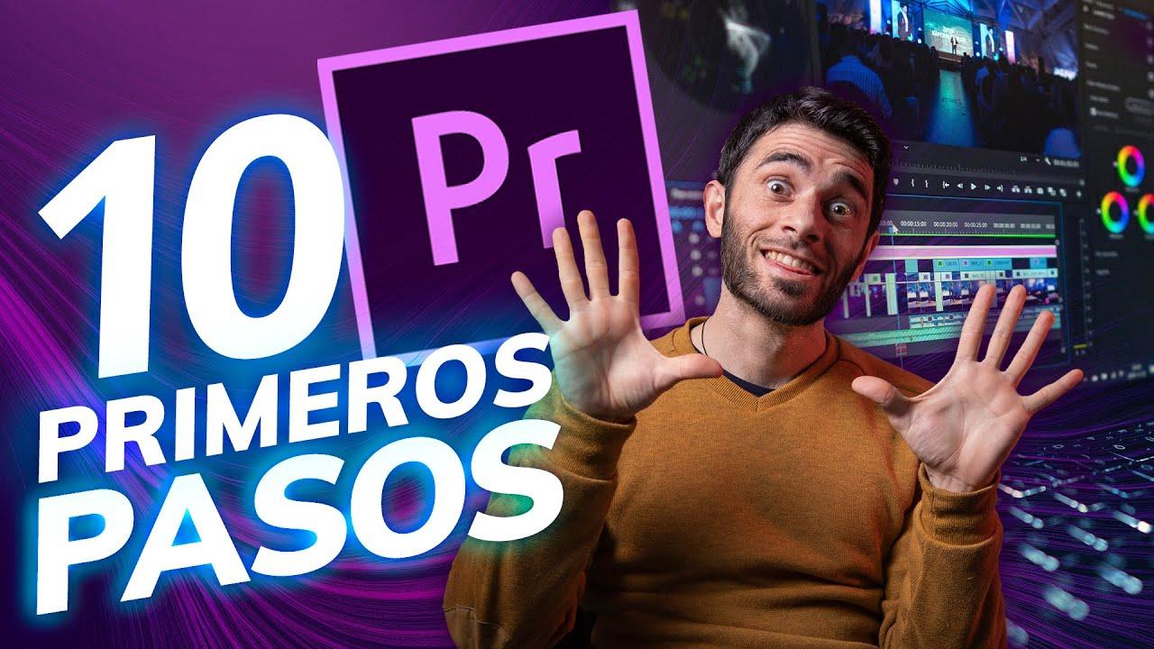 Download 10 PRIMEROS PASOS para EDITAR con ADOBE PREMIERE CC [2020]