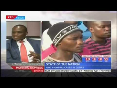 State of the Nation: Jubilee accuses NASA of delay tactics