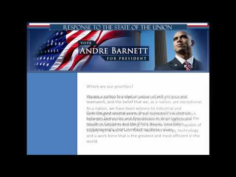 Andre Barnett - Response To The State Of The Union
