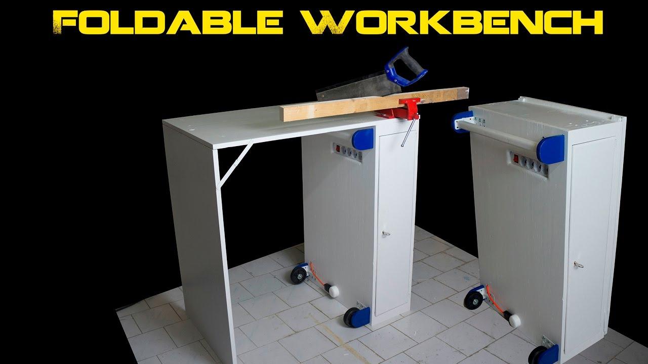 Banco da lavoro pieghevole fai da te foldable workbench for Banco da lavoro pieghevole wolfcraft