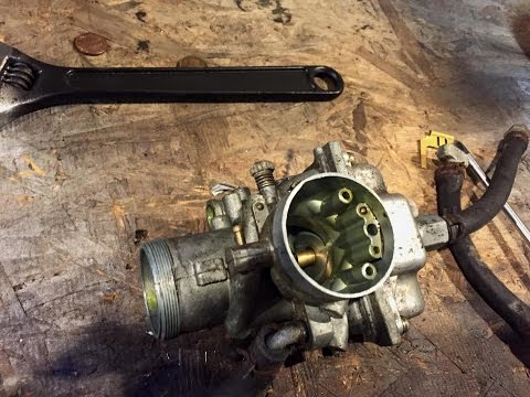 1996 Polaris Indy Lite 340 - Carb Cleaning and Seat Removal