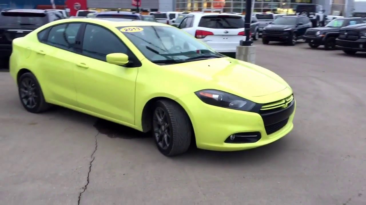 Dodge Dart Turbo >> 2013 Dodge Dart Sxt 1 4l Turbo Sedan Automatic Accident Free And Car Proof Clean