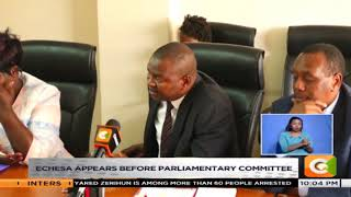 Rashid Echesa appears before parliamentary committee