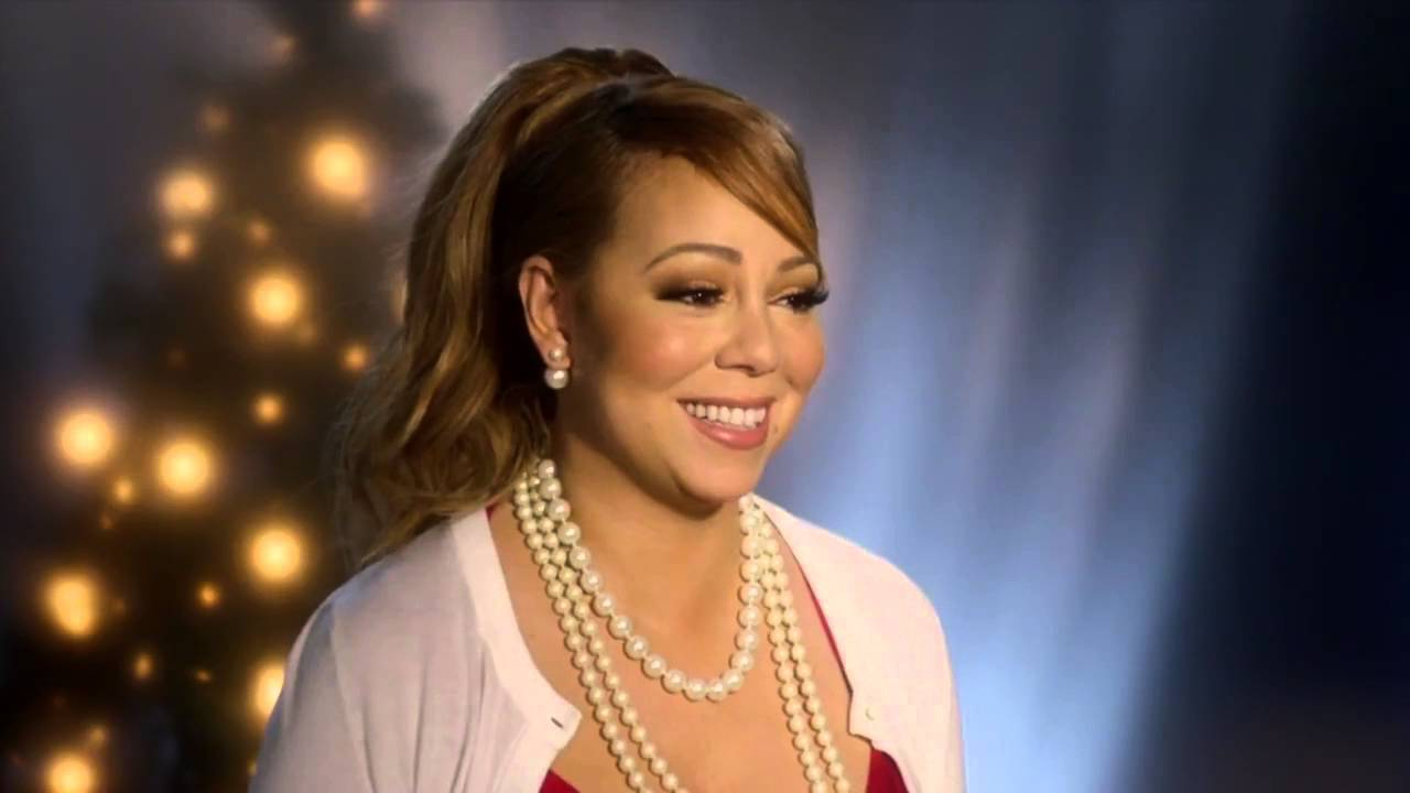 Celebrity Moments - Mariah Carey - A Christmas Melody - YouTube