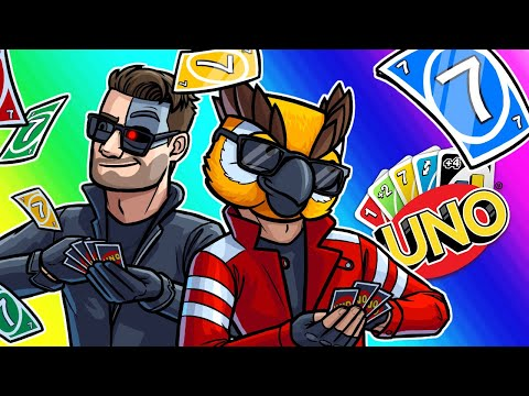 Uno Funny Moments - Lucky Number 7 For All!!