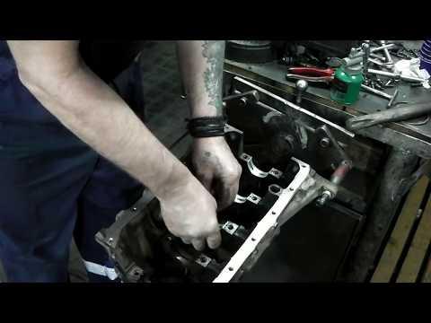 ВАЗ 2110 двс 2112 1.5л ремонт двс, сборка.