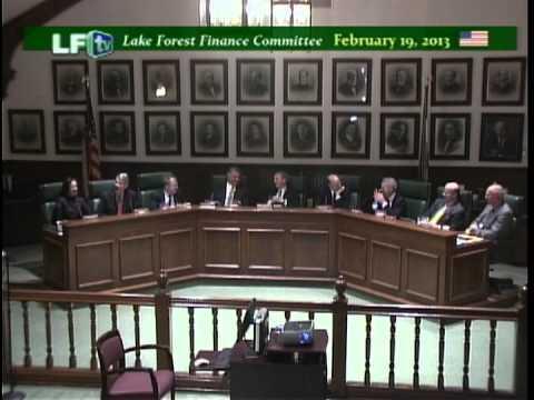 LF Finance Committee 2-19-13