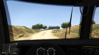 Grand Theft Auto V - Fuel Tank Works  on Vehicle Dashboard