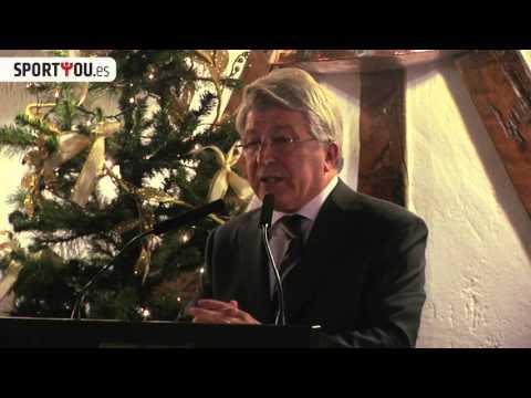 Discurso navideño de Enrique Cerezo