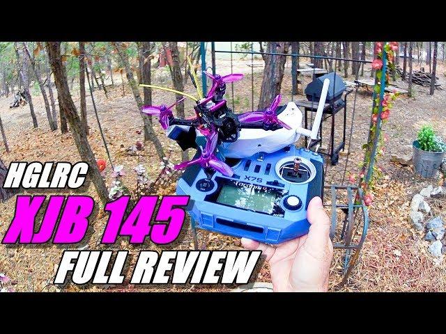 HGLRC XJB 145 Micro FPV Race Drone Review - Unboxing, Flight / CRASH Test!, Pros & Cons