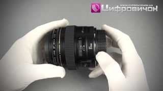Видеообзор Canon EF 85mm f 1.8 USM