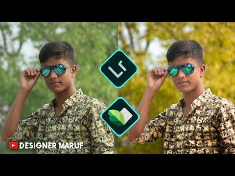 Awesome Lightroom + Snapseed  photo editing tutorial on android___2019 in best editing tutorial thumbnail