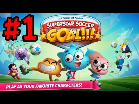 Cartoon Network Superstar Soccer: Goal!!! (By Cartoon Network) Gameplay/Walkthrough iOS/Android Game