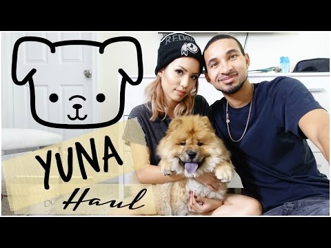 OUR PUPPY MUST HAVES | YUNA HAUL